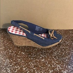 Wedge Shoes With Free Gift